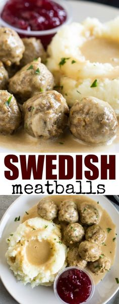 Best Sloppy Joes The best Swedish meatballs are made from scratch with an easy homemade gravy.The best Swedish meatballs are made from scratch with an easy homemade gravy. Meatball Recipes, Meat Recipes, Cooking Recipes, Budget Recipes, Oven Recipes, Copycat Recipes, Casserole Recipes, Sweetish Meatballs Recipe, Easy Homemade Gravy