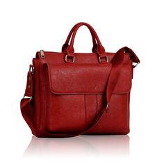 Unisex Red Laptop Bag Laptop Bag, Unisex, Satchel, Handbags, Red, Women, Fashion, Totes, Moda