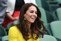 Kate watching Wimbledon Tournament, July 2016