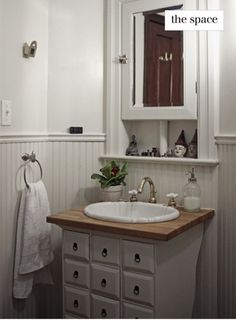 This would be perfect for our small master bathroom.