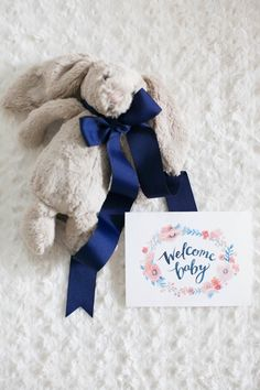 Read More on SMP: http://www.stylemepretty.com/living/2015/10/29/little-bunny-baby-gift-box/
