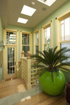 Urban Oasis - tropical - porch - chicago - Constantine D. Vasilios & Associates Ltd