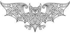 Vikings embroidery medieval bat - Google Search
