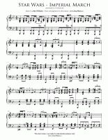 Star Wars: Imperial March (advanced) | Easy Piano Sheet Music