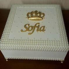 Lindas caixas personalizadas e peroladas para qualquer ocasião! Encomendas…