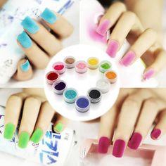Hot Selling 12Pcs Decorate Velvet Fiber Nail Polish Professional Nail Art Cosmetics Varnish Nail Enamel High Quality 80b9923e-e61e-4b80-aafe-962e6c3c2b3b Nail Polish