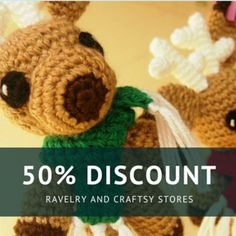 Sol de Noche {deco crochet}: Great Discount: Comet the Reindeer Pattern