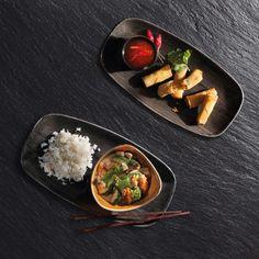 Unsere Empfehlung 🍜🍤🥑🌶🥢 Vom Mo 8. April  - Sa 13. April erhältst du in unserem Restaurant im Glatt und an der Josefstrasse das gelbe Thai-Curry mit Crevetten und 4 Frühlingsrollen für CHF 22.00* Beispielbild