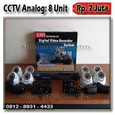 8 Kamera CCTV 800TVL