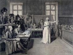 Procès de Marie-Antoinette le 15 octobre 1793. Pierre Bouillon. Copyright &copy © Musée Carnavalet / Roger-Viollet