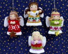 Little Daisy doll knitting pattern INSTANT DOWNLOAD por dollytime