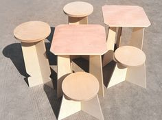 ByProducts Transforms Waste Wood Offcuts Into Flat Pack Furniture | Inhabitat - Sustainable Design Innovation, Eco Architecture, Green Building