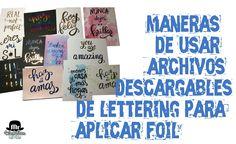 Mr WashiSan: Diferentes maneras de usar archivos descargables de lettering para aplicar foil Kirigami, Decoupage, Scrapbook Letters, Diy Y Manualidades, Art Techniques, Youtube, Photo Wall, Lettering, Frame