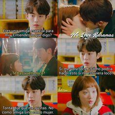 Kim Woo Bin, Weightlifting Kim Bok Joo, K Pop, Sung Kang, Kim Book, Good Morning Call, Couple Moments, Playful Kiss, Kdrama Memes