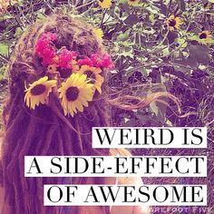 Weird...
