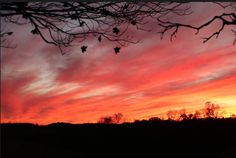 Sunset over Indiana, PA Indiana, Celestial, Sunset, Outdoor, Outdoors, Sunsets, Outdoor Games, The Great Outdoors, The Sunset