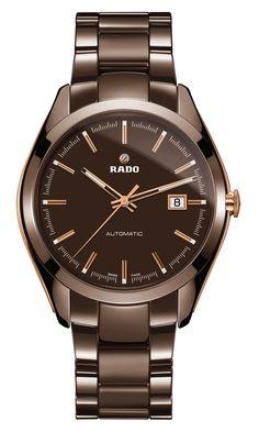 #TiempoPeyrelongue  HyperChrome. Hoy, un nuevo color hace su aparición en el universo de los elegantes diseños y superficies de alta tecnología de los relojes #Rado. @rado #watches