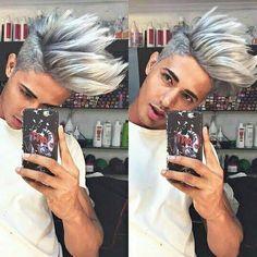 Danish zehen miss you my big fam bro – hindu-rays Silver Hair Boy, Mtv, Boys Colored Hair, Danish Men, Wubba Lubba, Temporary Hair Color, Hair Wax, Men's Hair, Youtuber