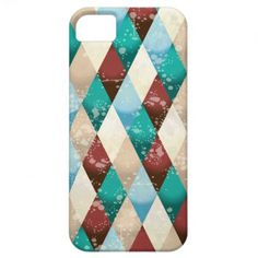 Abstract retro background iPhone 5 #case by PinkHurricane #Zazzle store :)