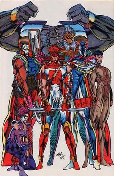 YoungBlood,......do they look familiar? Biggest hype in comic book history