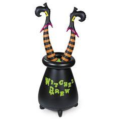 Inflatable Vinyl Witch's Cauldron - Halloween Witches Legs Decoration OTC http://www.amazon.com/dp/B005XN4VA4/ref=cm_sw_r_pi_dp_-wVUtb0WFQ31SM3B
