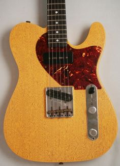 Fender Custom Shop Dale Wilson Masterbuilt '60s Telecaster Relic (TV Yellow) - Well we reckon this is the coolest guitar we've had through the door in quite some time. A inspired combination of influences from our two favourite guitar makers if we were to say maybe this should have been called a Tele Junior you'll get what we mean! £3199 #fender #telecaster #yellow #custom #custom
