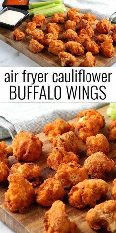 Air Fryer Recipes Vegan, Air Frier Recipes, Air Fryer Dinner Recipes, Air Fryer Healthy, Veggie Recipes, Healthy Dinner Recipes, Vegetarian Recipes, Cooking Recipes, Healthy Dinners