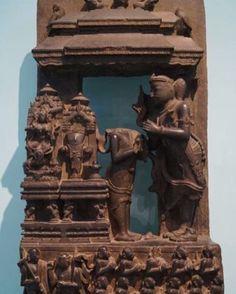 "33 Likes, 1 Comments - National Museum New Delhi (@nmnewdelhi) on Instagram: ""King Narsimha worshipping Jagannatha, Easter Ganga, 13th Century AD #Konark #Orissa #Stone…"""
