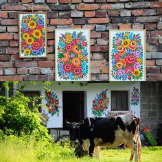 zalipie, poland painted village