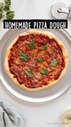 Pizza Recipes, Cooking Recipes, Bread Recipes, Stromboli Recipe, Calzone, Making Pizza Dough, Naan Flatbread, Food Hacks, Food Tips