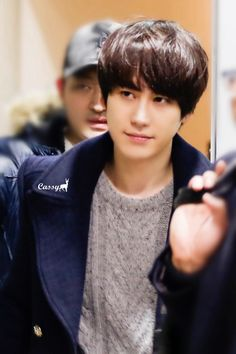 Kyuhyun ..My sweet evil Prince with his stern look