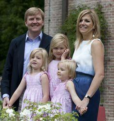 Crown Prince Willem-Alexander and Princess Máxima have three daughters: Princess Amalia, Princess Alexia and Princess Ariane.