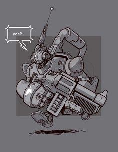 Robot Envy Artist of the week: Chris Walton | Robot Envy