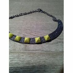 #jewelry #jewels #bijoux #necklace #fashion #handmade #cat #funny  #glitter An item from Etsy.com: I added this item to Fashiolista