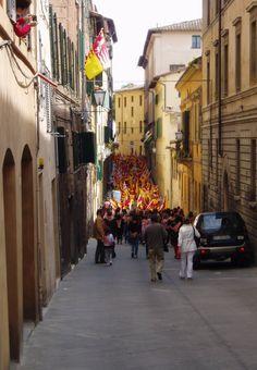Siena, Via delle Cerchia
