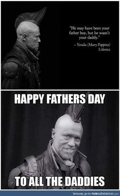Yondu makes clear the difference between Father and Daddy. Also purifies the latter. Marvel Funny, Marvel Memes, Marvel Avengers, Marvel Comics, Galaxy Quotes, Gardians Of The Galaxy, Yondu Udonta, Spiderman, Words Of Wisdom Quotes