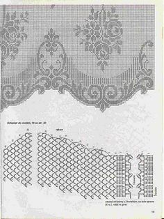 Turkish crochet curtain - dantel perde Asuman Emir