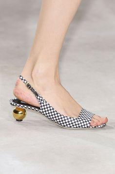 Dries Von Noten, Spring 2013 Shoes. Paris Fashion Week.