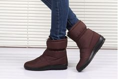 Quality Non-Slip Waterproof Warm Cozy Winter Snow Boots 4 Colors