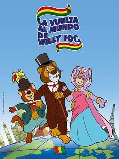 Watch TV Links La vuelta al mundo de Willy Fog Serie Online Vintage Cartoons, Classic Cartoons, Happy Cartoon, Cartoon Kids, Anime Furry, Old Anime, Infancy, My Childhood Memories, Old Tv
