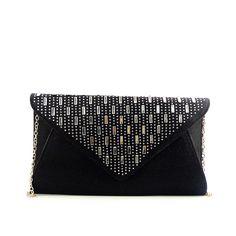 4ef118a7ac7e Hot sale cheap price wholesale fashion lady Black Crystal messenger bags  for women cheap
