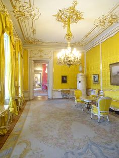 Rococo Room, Albertina State Rooms | Photo: 2016, © Albertina, Wien #AlbertinaStateRooms #AlbertinaPrunkräume Albertina Wien, State Room, Rococo, Vienna, Austria, Castle, Houses, Interiors, Home Decor