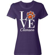Love Clemson Shirts