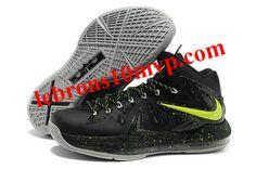 Lebron X Elite Blackout Volt Atomic Green 541100 001