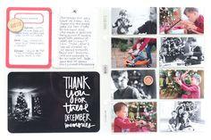 December Album   Page 16 & 17 by donyaluana at @studio_calico