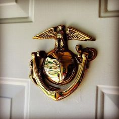 Eagle, Globe and Anchor door knocker