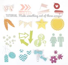 Silhouette Tutorial : Make Something Out of Those Scraps!