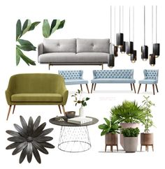"""""""Green Lobby"""" by chesyj on Polyvore featuring interior, interiors, interior design, home, home decor and interior decorating"""