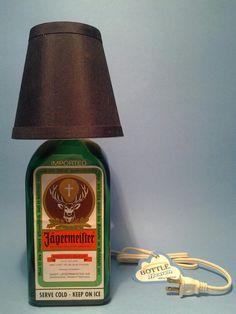 ( Jagermeister ) Table Lamp Black
