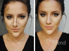 Tutorial for a glowing, contoured face.